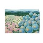 ひつじ好きの未草のギャラリーの紫陽花ひつじ Blankets