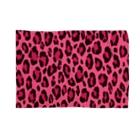 みや猫のヒョウ柄(ピンク) Blankets