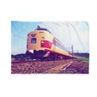 ELECTRICLADY LABOの電車雷鳥 Train mania Blankets