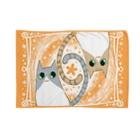 しののゆるい系の猫-おれんじ色- Blankets