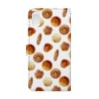 ととととのいろいろパン Book-style smartphone caseの裏面