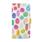Coffret à bijouxの宝石のスマートフォンケース Book style smartphone case
