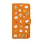 かわしまさきのおやつタイム Book-style smartphone case
