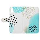 れみしま🐕のPolca dot 8 Book-style smartphone caseを開いた場合(外側)