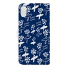 aki_ishibashiのはなとゆきの女王 Book-style smartphone caseの裏面