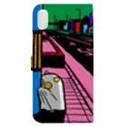 原田ちあきのもうどくと夜 Book-style smartphone caseの裏面