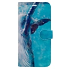 AWESOME CLOUDのwhale Book-style smartphone case