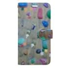 RAVE GIRLのbouldering~素敵な凹凸~ Book-style smartphone case