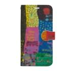 天才アートKYOTOの天才アートKYOTO 楠川敦士_1 Book-style smartphone case