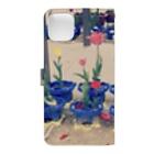 kuikoの咲いた・さいた Book-style smartphone caseの裏面