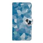aliveONLINE SUZURI店のOcean Book-style smartphone case