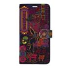 中村杏子のアジアンネオン Book-style smartphone case