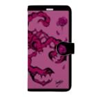 𝙽𝚘 𝚁𝚘𝚜𝚎 𝚆𝚒𝚝𝚑𝚘𝚞𝚝 𝙰 𝚃𝚑𝚘𝚛𝚗.の君以外害 iPhone11専用 Book-style smartphone case