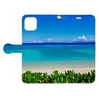 mizuphoto.comの夏の扉 Book-style smartphone caseを開いた場合(外側)