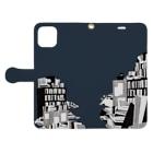 出口瀬々の本の海 Book-style smartphone caseを開いた場合(外側)