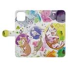 マキバドリの夢見る猫 Book-style smartphone caseを開いた場合(外側)