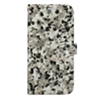 Urban Forest by Singh アーバン・フォレストの御影石模様 Stone Granite style Book-style smartphone case