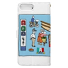 LSC☆SHOPのぶらり岡崎1 Book-style smartphone caseの裏面