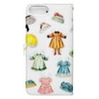 mignonne ミニョンヌの【iPhone6plus用】ミニョネットちゃん Book-style smartphone caseの裏面