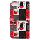 dandyism-neco.com goodsのTEA TIME柄手帳型スマホケース Book-style smartphone caseの裏面