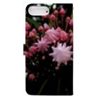 駿河屋ガルスのピンクで幸多かれ! Book-style smartphone caseの裏面