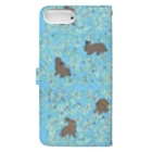 SCHINAKO'Sのチョコミント Book-style smartphone caseの裏面