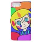 Cackrino🔻🔻🔻のCackrino Pierrot Style Book-style smartphone caseの裏面