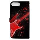 suzuyaのguitar.Red Book-style smartphone caseの裏面