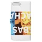 BOOCHA&NYACHAのSEBAS NYACHA Book-style smartphone caseの裏面