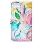 coaiの花のイロ Book-style smartphone caseの裏面