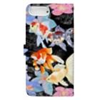 あやるの花と金魚たち Book-style smartphone caseの裏面