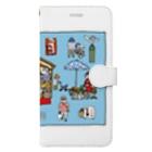 LSC☆SHOPのぶらり岡崎1 Book-style smartphone case