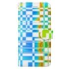 Kazumichi Otsubo's Souvenir departmentのGridplay bright 01 Book-style smartphone case