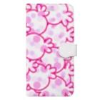 LUVHOLICのほぼピンクキャンディー Book-style smartphone case