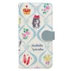 トシダナルホのアリスのお茶会 Book-style smartphone case