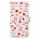 sucre usagi (スークレウサギ)のスウィートなパンくまさん Book-style smartphone case
