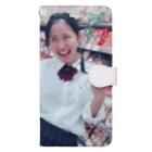 いときちの変顔のるんちゃん Book-style smartphone case