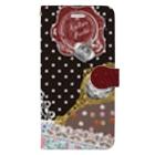 Atelier Pechi / アトリエ・ペチのScarf Pattern Book-style smartphone case