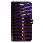 ANGOの高層ビル群、夜景 Book-style smartphone case