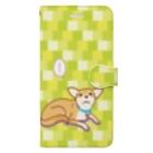 ULI_Tetoのテトさん(犬) Book-style smartphone case
