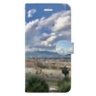 stecchiの絵画のようなフィレンツェ全景 Book-style smartphone case