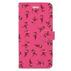 うが😈のKUNG-FU GIRLS Book-style smartphone case