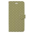 模様屋の麻の葉 壱 Book-Style Smartphone Case