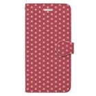 模様屋の麻の葉 弐 Book-Style Smartphone Case