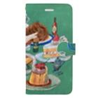 ヨシサコツバサのカフェごはん Book-style smartphone case