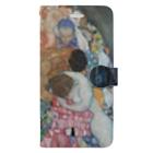 art-standard(アートスタンダード)の グスタフ・クリムト(Gustav Klimt) / 『死と生』(1915年) Book-style smartphone case