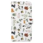 SCHINAKO'Sの春待ちうさぎ Book style smartphone case