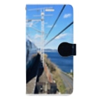 egpuromasaの鉄道(夏) Book-Style Smartphone Case
