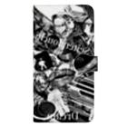 カズシフジイのK collage3 Book-style smartphone case