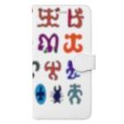 puikkoのロンゴロンゴ2(彩色) Book-Style Smartphone Case